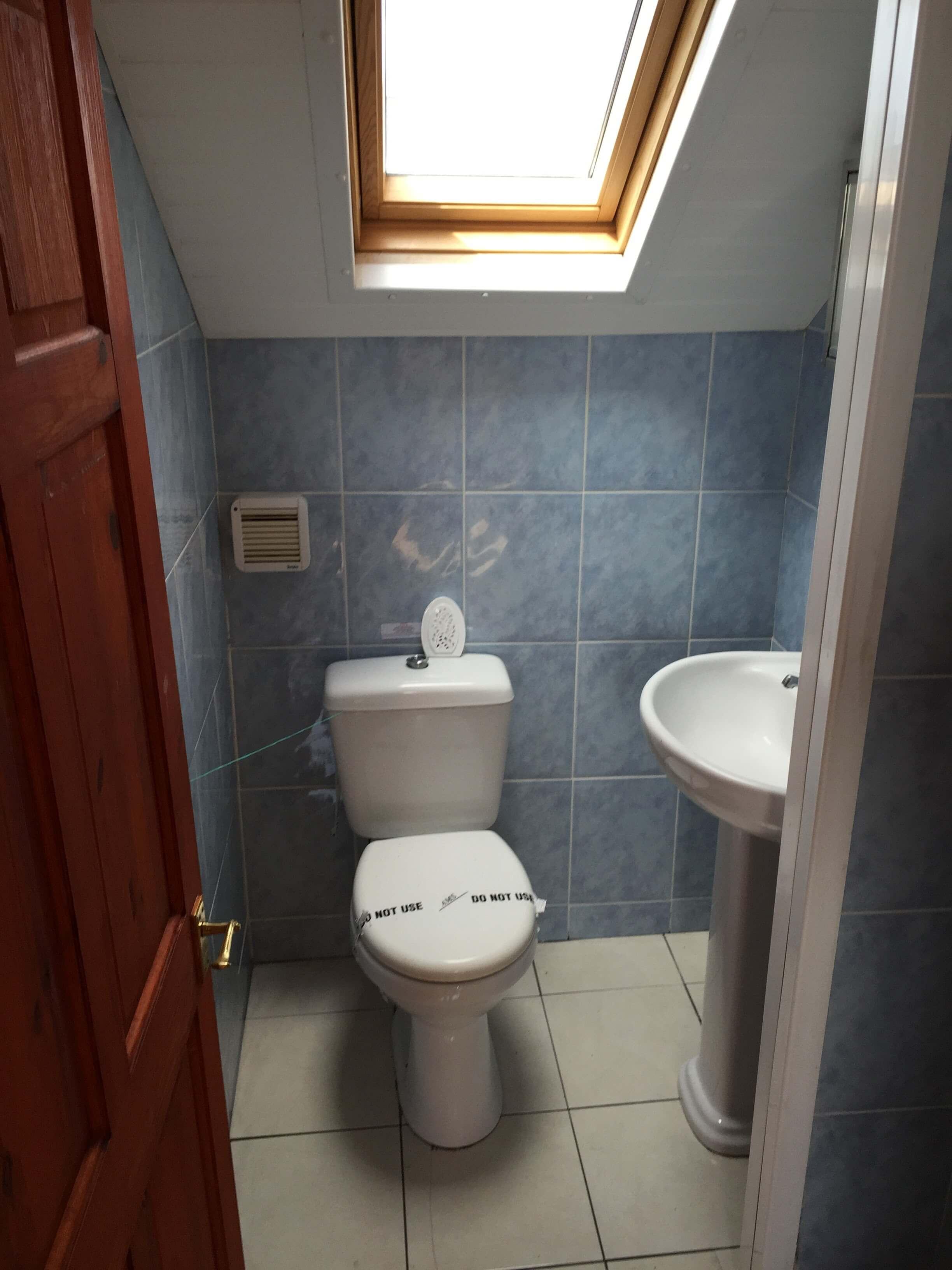 Bathroom after interior decoration